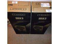 Mission MX3 Floorstanding Speakers New Boxed