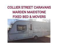 2009 coachman pastiche 530/4 berth fixedbed caravan + movers