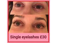 Threading, waxing, Tinting, Eyelash Extensions & Indian Head Massages