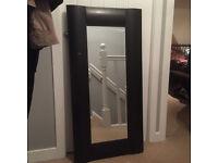 Mirror, Wooden Shappy Chic