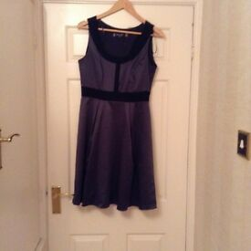 Principle grey and black dress size 12