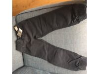 Next black cotton trousers 5years