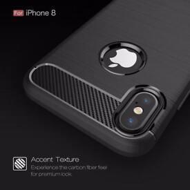 iPhone X case, iPhone 7, 8, 7 plus, 8 plus Brand new