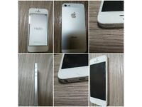 Apple iPhone 5 white on EE