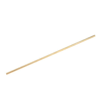 Diameter 6mm Solid Brass Round Bar Rod Lathe Bar Stock 1025cm