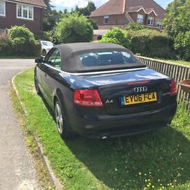 Audi A4 Sline Convertible