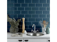 Metro Atlantis Blue Wall Tile