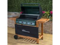 Elbrus 4 Burner Gas Barbecue, Used once! Collect 22/23 April