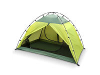 INTEY Camping Tent 2 Person Tents Green Waterproof Tent for Camping Hiking