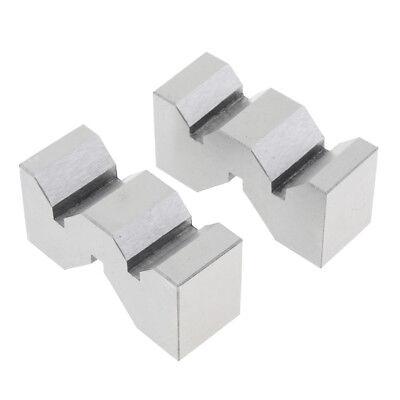 2pcs V Blocks Set Clamp Tool Gauge Workholding 2