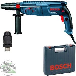 Bosch Bohrhammer GBH 2600 Kombihammer Meißelhammer SDS-Plus Handwerkerkoffer