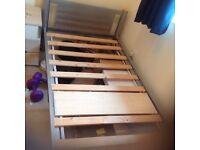 single bed -IKEA metal framed