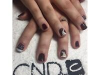 Shellac, Vinylux and Creative Play Manicures. Nails