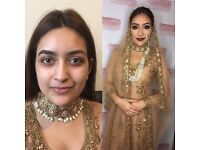 Asian Bridal Makeup Artist and hairstylist