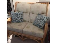 conservatory furniture sofa and 2 chairs