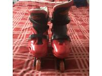 In line roller boots