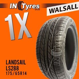 1x New 175/65R14 High Performance Budget Tyres Fitting is Available x1 Walsall