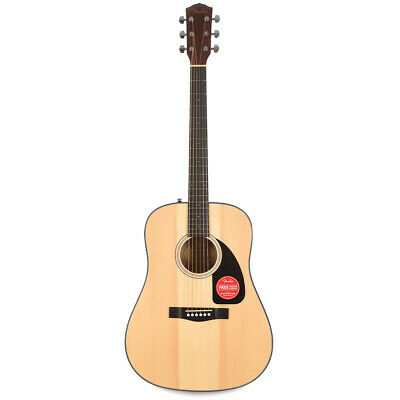 Fender CD-60 V3 Dreadnought Acoustic Guitar w/ Case - Natural