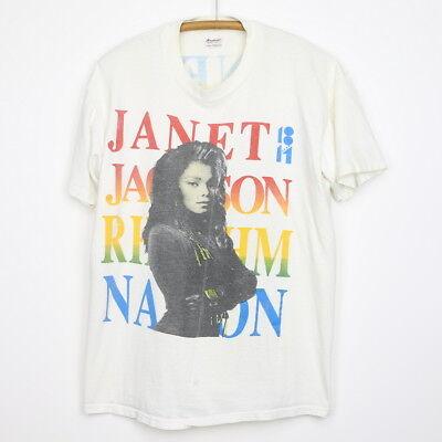 Vintage 1990 Janet Jackson Rhythm Nation Shirt for sale  Shipping to India