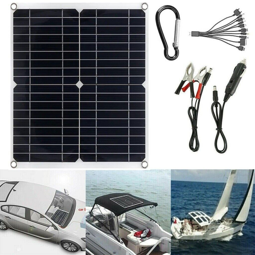 25w solar panel 12v trickle charge battery