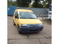 Left hand drive Citroen Jumpy 1.9 diesel van.
