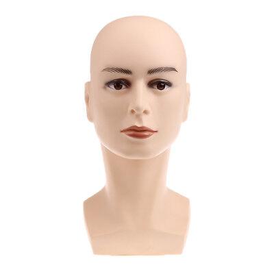 Mannequin Head Model Manikin Wigs Glasses Hats Store Window Display Holder