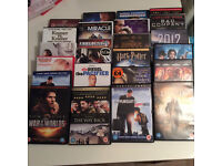 225 MIXED DVD'S