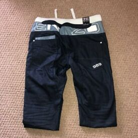 Mens Navy Enzo Jeans - 36R