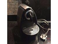 Nespresso coffee capsule pod machine