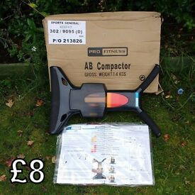 Pro Fitness Ab Compactor Exercise Machine