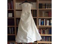 Elegant ivory wedding dress