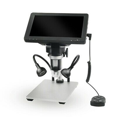 """7"""" 1080P 12MP Digital Microscope 1200X Zoom Video Magnification Camera W/ Remote"""