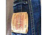 Levi 758 jeans
