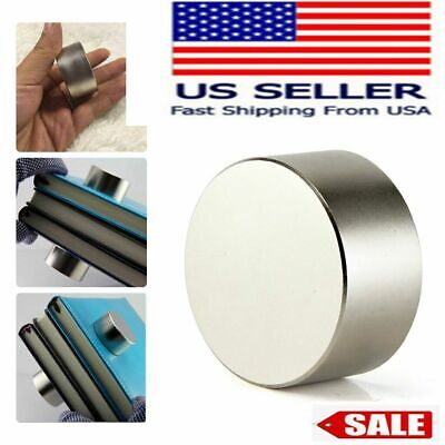Round N52 Large Neodymium Rare Earth Magnet Big Super Strong Huge 40mm20mm Usa
