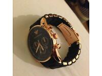 Black Armani Watch