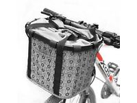 MVPOWER Removable Bicycle Front Basket Detachable Carrier Bag with Large Capacity of 5kg