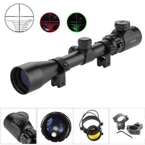 Zielfernrohr für Luftgewehr 3-9x40EG Riflescope Sight 11mm Montagen Ferngläser