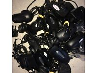 SALE of 37= 7 x Original BlackBerry Mini USB Chargers 24 x Third Party + 2 Motorola + 4 Car Chargers