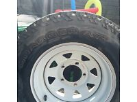 Off road wheels and bull bar for off Jimny