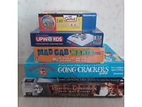 Various board games and puzzle ball, some are new & all complete. £2 each or all 5 for £8.