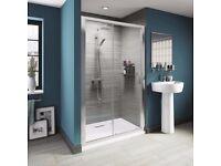 Brand new shower doors for sale - V8 8mm Framed Sliding Shower Door 1200