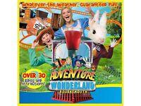 Staff Required! Join the Adventure Wonderland Team!