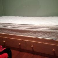 twin bed and mattress, like new