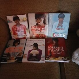 Lorraine Pascale 6 cookery books