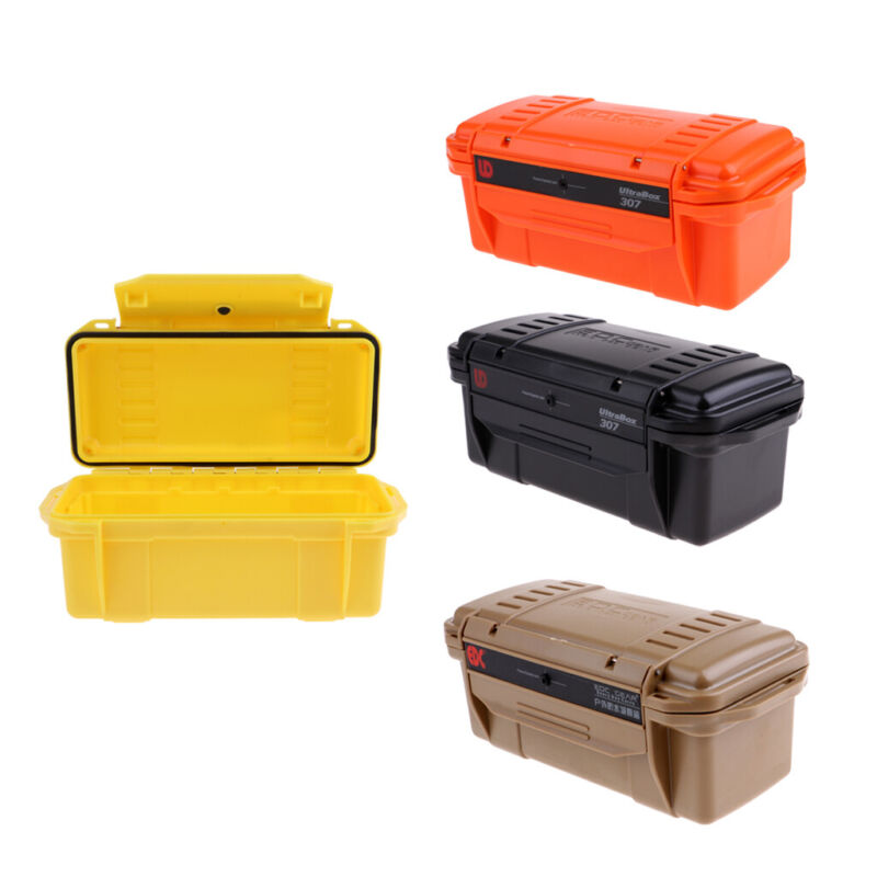 Shockproof Waterproof Storage Case Camping Boating BBQ Container Storage Box