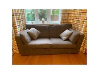 John Lewis 2 Seater sofa in Mauve