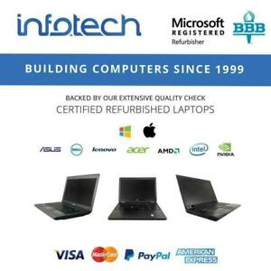 Laptops from $229.99 - www.infotechcomputers.ca