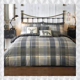 Brecon Duvet Set with additional Matching Cushions