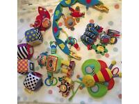 Lamaze & other baby toys
