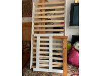 Wooden single bed frames